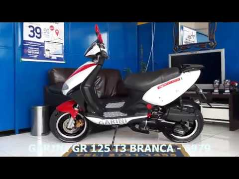 Processo de Manutenção da Garini GR 125 T3 Branca - 6979 - LR Motos