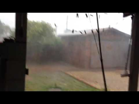 Chuva forte em Corumbiara 20/10/2016