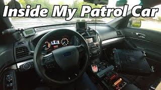 Brief look inside my patrol car.Follow on Twitter: https://twitter.com/PFCBarefoot