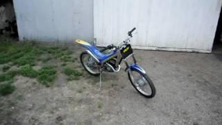 6. Sherco 50cc trials cycle