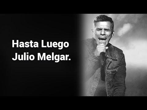 Muere el Cantante Julio Melgar. Comunicado confirmado