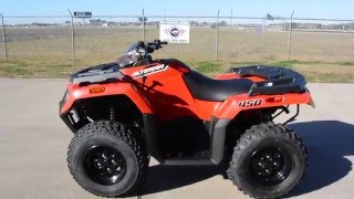 4. $6,199:  2016 Arctic Cat Alterra 450 4X4 Red Overview and Review