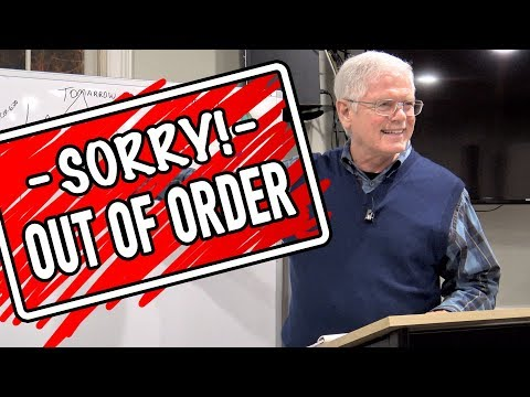 Sorry! Out of Order
