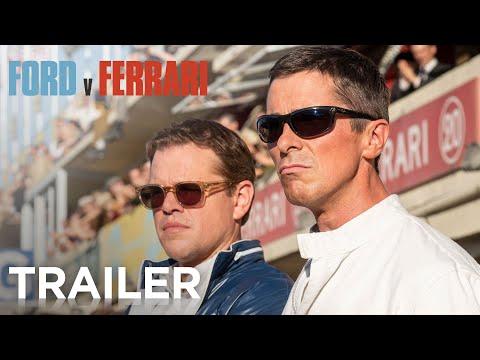 """Os vencedores do Oscar®, Matt Damon e Christian Bale estrelam """"Ford Vs Ferrari"""", a incrível história real do visionário designer automotivo americano Carroll Shelby (Damon) e do destemido piloto britânico Ken Miles (Bale)."""