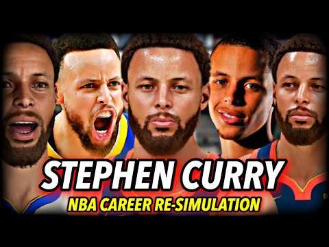 STEPHEN CURRY'S NBA CAREER RE-SIMULATION AS A 2021 ROOKIE | NBA 2K21 NEXT GEN