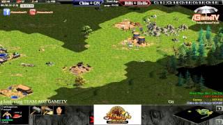 Chim Sẻ, Gunny vs BiBi, HeHe  Ngày 04 07 2015  C1T2, game đế chế, clip aoe, chim sẻ đi nắng, aoe 2015