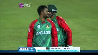 Tamim Iqbal's first T20I century!