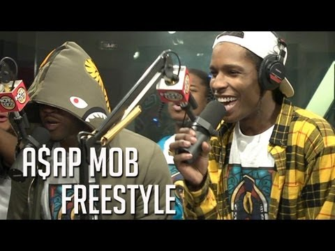 Asap - A$AP MOB goes in on Funkmaster Flex Show with this freestyle CLICK HERE FOR PART 2: http://youtu.be/u8wUn2in85I CLICK HERE FOR INTERVIEW: http://youtu.be/i_W...