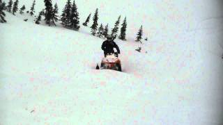 10. Dan's M-7 arctic cat hillclimbing