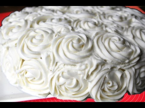 Cream Cheese Or Mascarpone  Based Frosting Video Recipe
