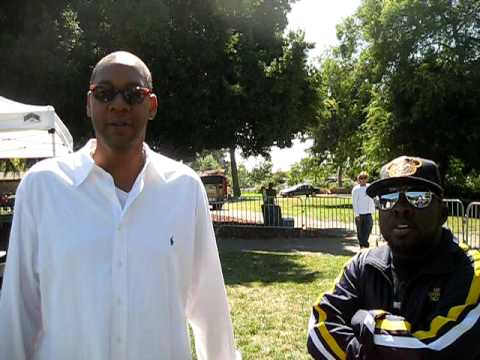 Phife Alert comedy on the green Oakland Mark Curry