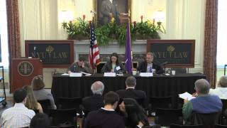 NYU Law Journal Of Law And Liberty Spring 2011 Symposium: Administrative Law Panel
