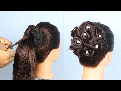 Easy hairstyles - New Easy Wedding/Party Hairstyles  cute hairstyles 2019  hairstyles for girls