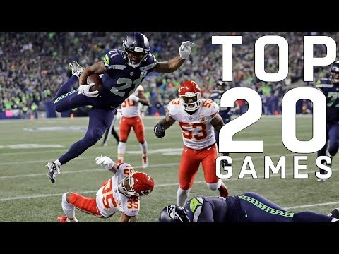 Top 20 NFL Games of the 2018 Season