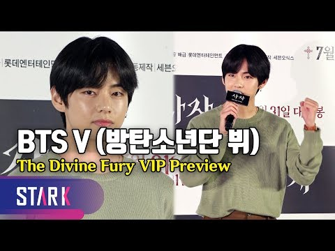 BTS V, 'The Divine Fury' VIP Preview (방탄소년단 V, 박서준 최우식에게 한 응원은?)