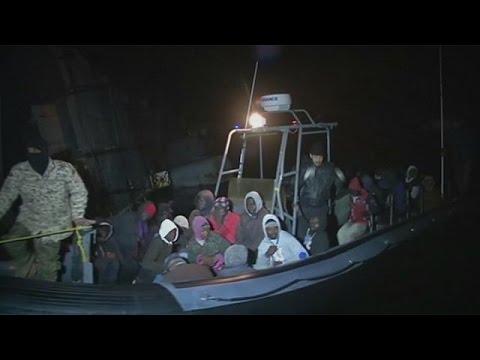 Περισσότερους από 1000 μετανάστες αναχαίτισε η λιβυκή ακτοφυλακή