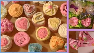 DIY ACNE, Youthful SKIN, & Silky HAIR Cupcake Bath Bomb (Gift Ideas) - YouTube
