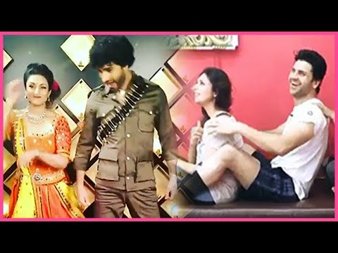 Divyanka Tripathi And Vivek Dahiya CUTE Boomerangs