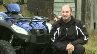 2. Review of the KYMCO MXU 500 IRS 4x4 ATV