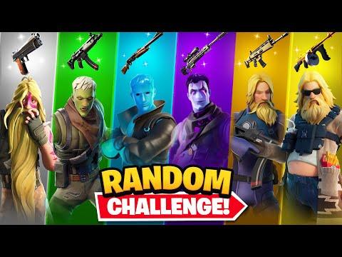 The *RANDOM* JONESY SKIN Challenge!