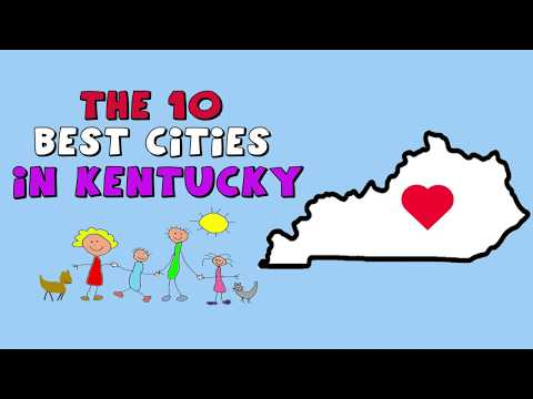 The 10 BEST CITIES To Live In Kentucky