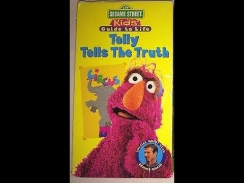 Opening and Closing to Sesame Street Kids' Guide to Life: Telly Tells The Truth Demo VHS (1997)