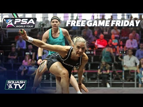 Squash: Massaro v Perry - Free Game Friday - World Series Finals 2017/18