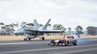 F1 Car vs F/A-18 Hornet - Both Machines Are Crazy!