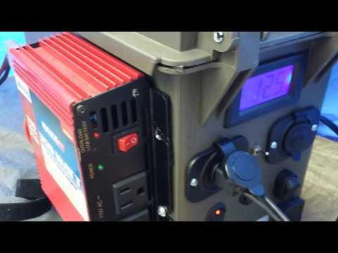 DIY Portable Solar Generator Powerfilm Solar