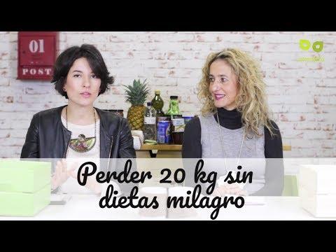 Dietas para adelgazar - Perder 20 kilos sin dietas milagro