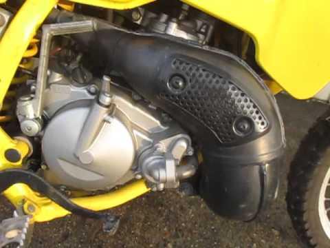 スズキ TS200R エンジン実動確認です。