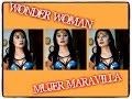 maquillaje WONDER WOMAN MUJER MARAVILLA comic SEXY