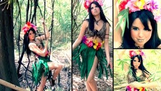 Katy Perry - Roar Music Video Inspired Makeup & DIY Costume! - YouTube