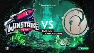 Winstrike vs IG, The International 2018, Time Brake, game 1