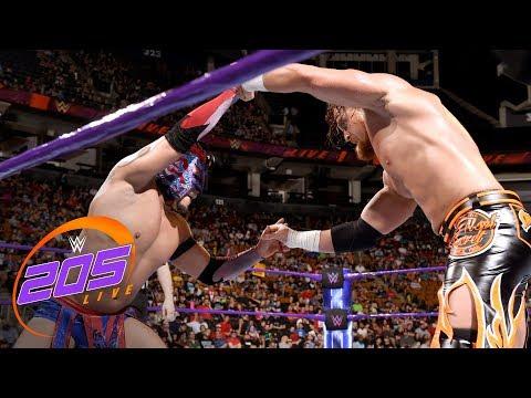 Kalisto vs. Buddy Murphy:  WWE 205 Live, Aug. 28, 2018