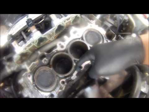 PT #1 $200 DOLLAR HONDA CIVIC BLOWN HEAD GASKET JOB (TAKING IT OFF)1998 1.6L