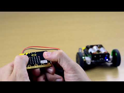Remote controlled BBC micro:bit robot