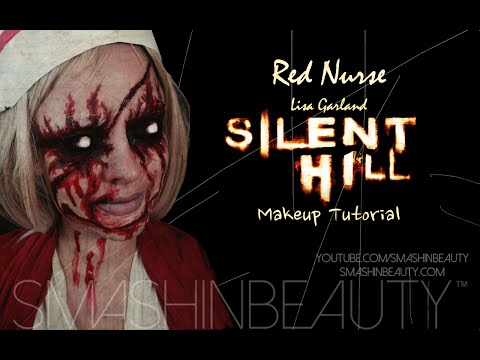 Silent Hill Red Nurse (Lisa Garland) Halloween SFX Makeup Tutorial