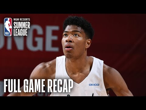 Video: HAWKS vs WIZARDS | Rui Hachimura Impresses For Washington | MGM Resorts NBA Summer League