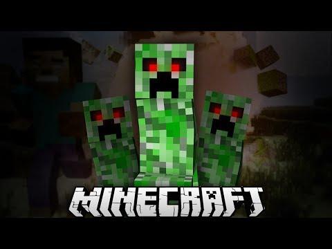 Creeper 39 s target steve minecraft machinima minecraft blog - Minecraft creeper and steve ...