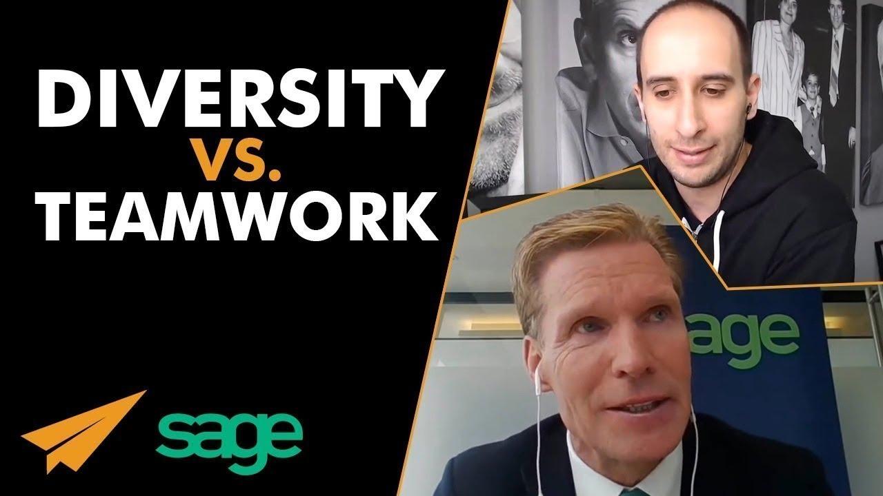 Does DIVERSITY Prevent TEAMWORK? - Evan & @SKellyCEO