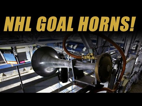 Reviewing All NHL Arena Goal Horns