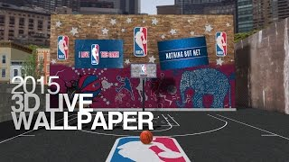 NBA 2016 Live Wallpaper YouTube video