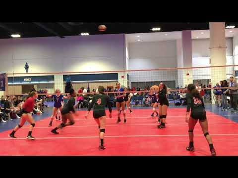 Olivia Pugh's Volleyball Action - February 2018