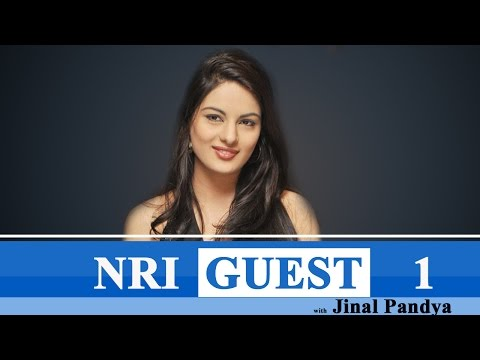 Actress Jinal Pandya With NRI Guest | Part 1 : TV5 News