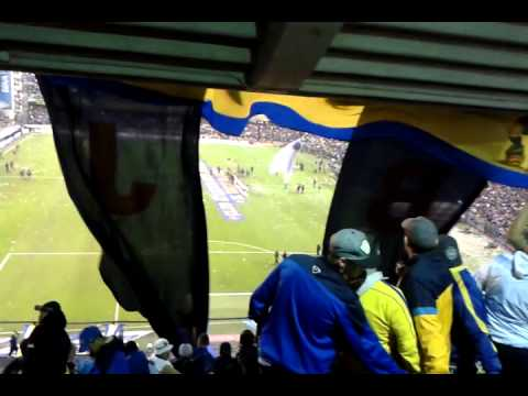 Video - Boca RiBer 2015 / Recibimiento - Telon - La 12 - Boca Juniors - Argentina