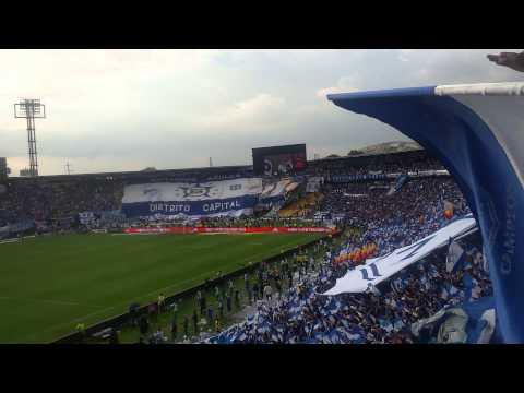Himno De Bogotá Por La Mejor Hinchada..... - Comandos Azules - Millonarios