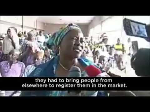Iyaloja Of One Of The Markets In Ilorin That Osinbajo Went To Share TraderMoni To Fake Traders