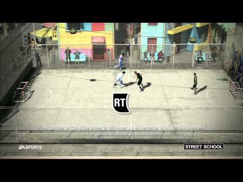 FIFA Street : apprentissage du contrôle Street