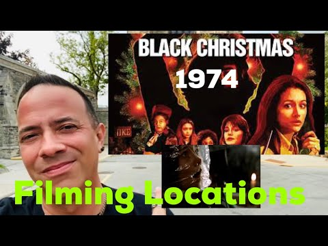 Black Christmas 1974 Filming Locations Then and Now |All Toronto Locations Bob Clark Slasher Classic